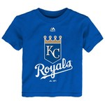 Majestic Toddlers' Kansas City Royals Team Logo T-shirt