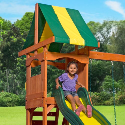 Backyard Discovery™ Weston Wooden Swing Set - view number 6