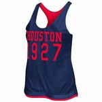 Colosseum Athletics Women's University of Houston Triple Crown Reversible Tank Top