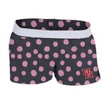 Soffe Girls' University of Houston Printed Authentic Low Rise Short