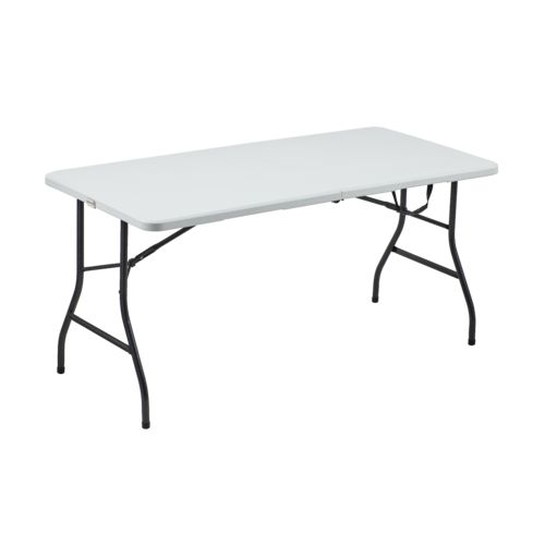 Display product reviews for Academy Sports + Outdoors 5 ft Half Folding Table