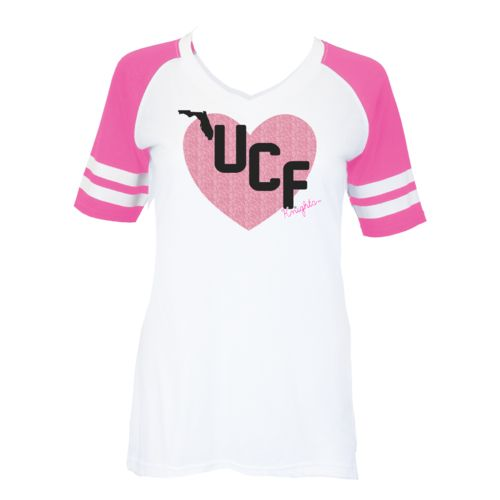 Soffe Girls' University of Central Florida Retro Football Jersey T-shirt