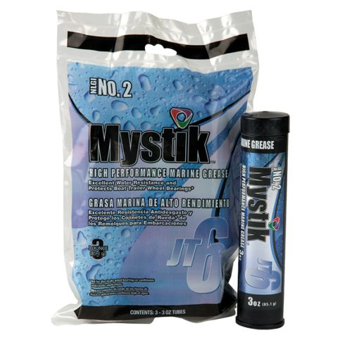 Mystik® JT-6 High Performance 3 oz. Marine Grease 3-Pack