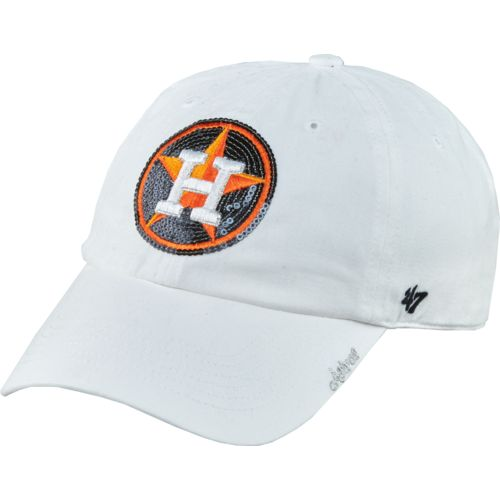 '47 Women's Houston Astros Sparkle Clean Up Cap