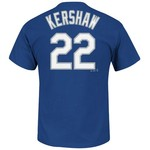 Majestic Men's Los Angeles Dodgers Clayton Kershaw #22 T-shirt