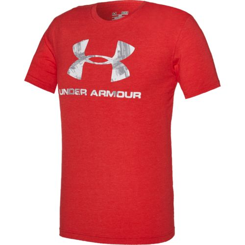 Under Armour Men 39 S Sports Style Painted Lines T Shirt