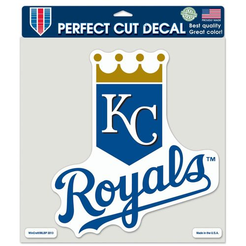 "WinCraft Kansas City Royals 8"" x 8"" Perfect Cut Color Decal"