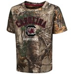 Colosseum Athletics™ Toddler Boys' University of South Carolina Blacktail Camo T-shirt