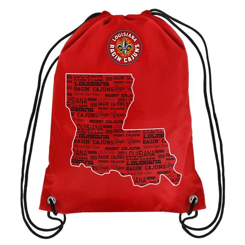 Forever Collectibles™ University of Louisiana at Lafayette Drawstring Backpack