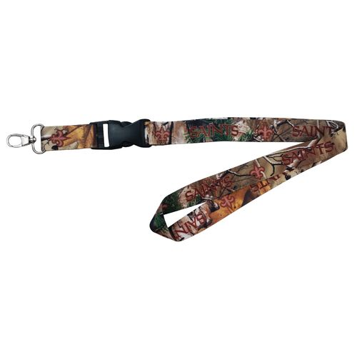 NFL New Orleans Saints Realtree Lanyard - view number 1