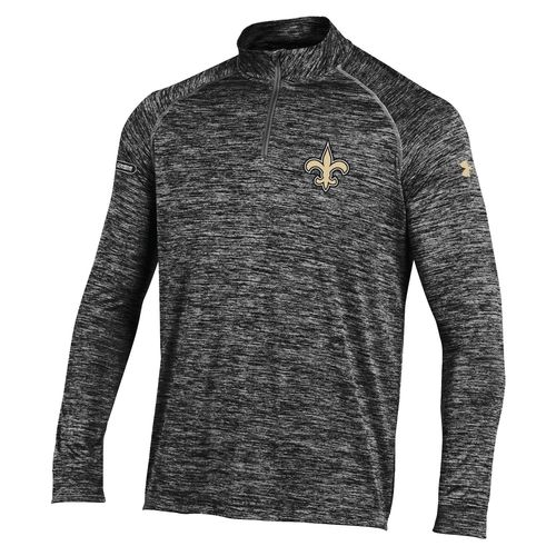 Under Armour™ NFL Combine Authentic Men's New Orleans Saints Twist UA Tech™ 1/4 Zip Pu