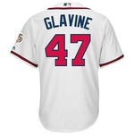 Majestic Men's Atlanta Braves Tom Glavine #47 Cool Base Replica Jersey