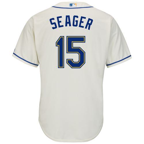 Majestic Men's Seattle Mariners Kyle Seager #15 Cool Base Replica Jersey
