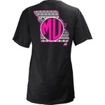 Three Squared Juniors' University of Missouri Moonface T-shirt