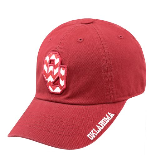 Top of the World Women's University of Oklahoma Chevron Crew Cap