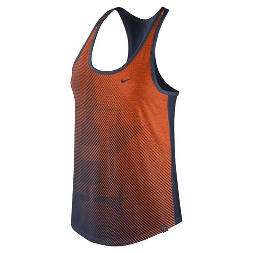 Nike Women's Houston Astros Triblend Racerback Tank Top