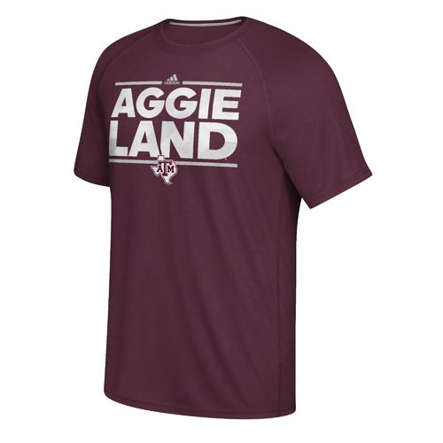 adidas Men's Texas A&M University City T-shirt