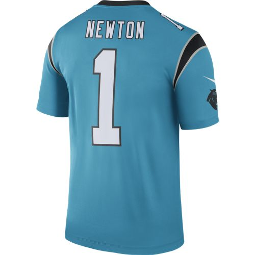 Nike™ Men's Carolina Panthers Cam Newton #1 Color Rush Jersey