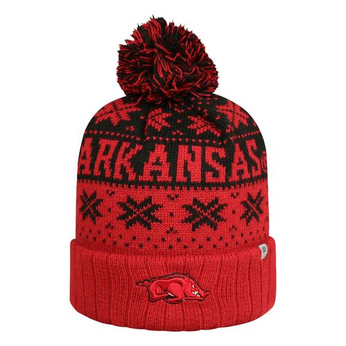Top of the World Men's University of Arkansas Subarctic Knit Cap