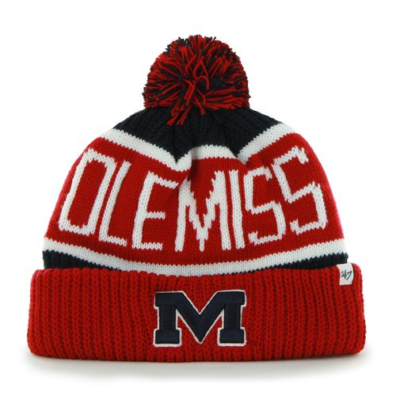 '47 University of Mississippi Calgary Knit Hat