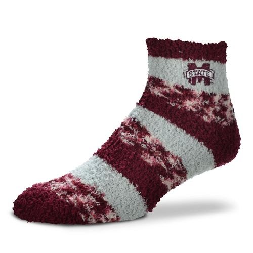 FBF Originals Women's Mississippi State University Pro Stripe Sleep Soft Socks