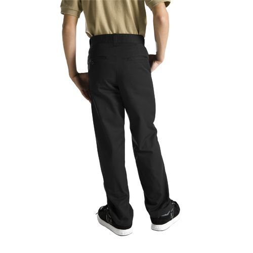 Dickies Boys' Classic Fit Straight Leg Flat Front Uniform Pant - view number 2