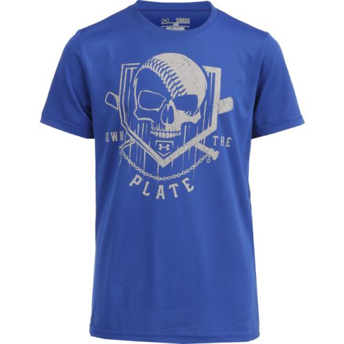 Display product reviews for Under Armour Boys' Own the Plate T-shirt
