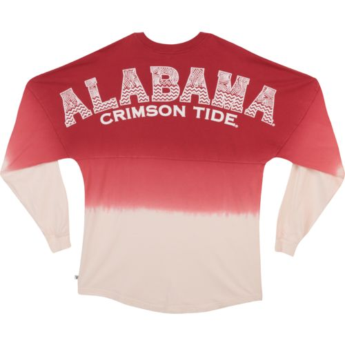 NCAA Women's University of Alabama Ombré Tribal Football T-shirt