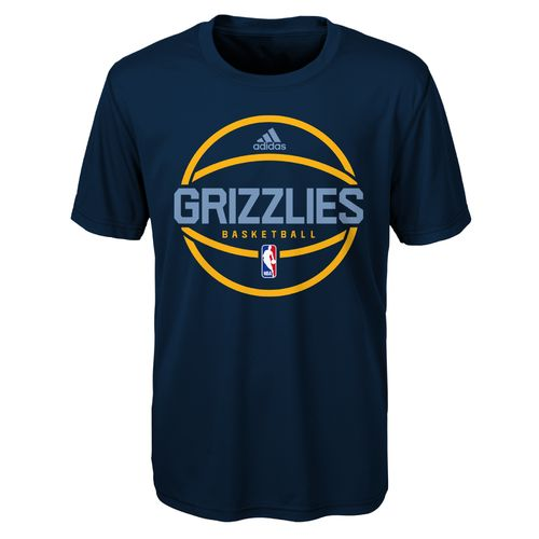adidas™ Boys' Memphis Grizzlies New Ball Graphic T-shirt