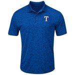 Majestic Men's Texas Rangers Hit First Polo Shirt - view number 1