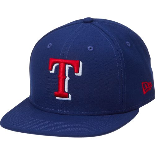 New Era Men's Texas Rangers 9FIFTY® State Clip Snap Cap