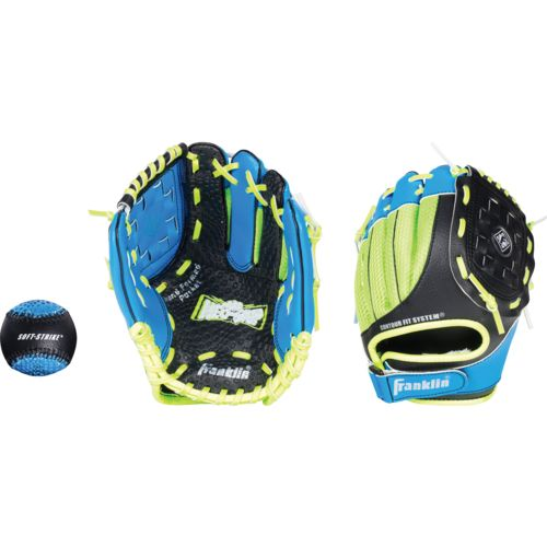 Franklin Youth Neo-Grip® Series 9.5' T-ball Glove with Ball