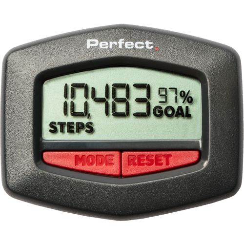Perfect Fitness Pedometer Step and Distance Tracker