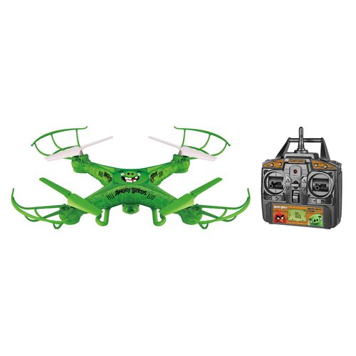 World Tech Toys Angry Birds The Pigs Squawk-Copter RC Camera Drone