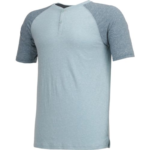 BCG Men's Short Sleeve Lifestyle Henley