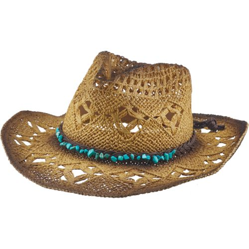 O'Rageous Women's Cowboy Hat with Bead Trim