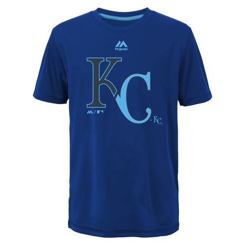 MLB Boys' Kansas City Royals Split Series Ultra T-shirt