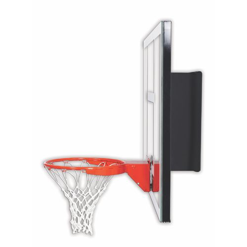Goalsetter 54 in Wall Mounted Tempered-Glass Basketball Hoop - view number 2