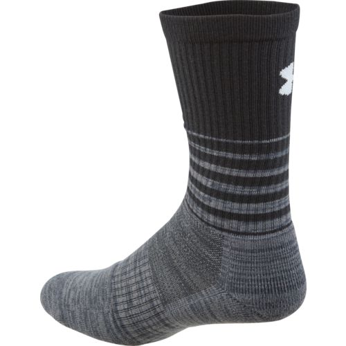 Under Armour Men's Phenom Twisted Crew Socks 3 Pairs - view number 3