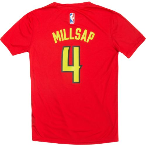 adidas™ Boys' Atlanta Hawks Paul Millsap Player T-shirt