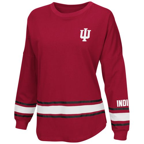 Colosseum Athletics™ Women's Indiana University All Around Oversize Long Sleeve T-shirt