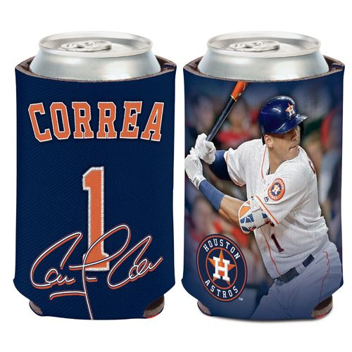 WinCraft Houston Astros Carlos Correa 12 oz Can Cooler - view number 1