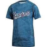 BCG Boys' Baseball Word Fitted Compression T-shirt - view number 3