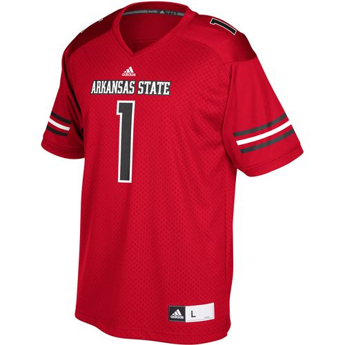adidas Men's Arkansas State University Replica Football Jersey - view number 1