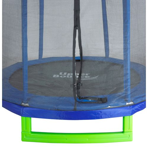 Upper Bounce 7 ft Round Indoor/Outdoor Trampoline with Enclosure - view number 2