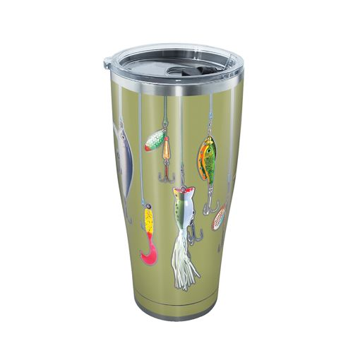 Tervis Fishing Lures 30 oz Stainless Steel Tumbler