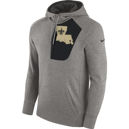 Nike Men's New Orleans Saints Fly Pullover Hoodie