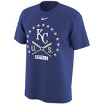 Nike Men's Kansas City Royals Memorial Day 2017 Logo T-shirt - view number 1