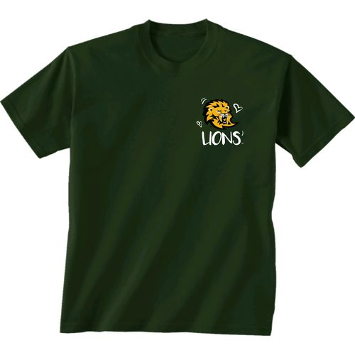 New World Graphics Girls' Southern Louisiana University Where the Heart Is Short Sleeve T-shirt - view number 2
