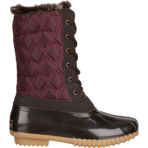 Magellan Outdoors Women's Mid Quilted Duck Boots